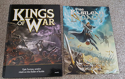 Kings of War Hardback (1st ed) + Basilean Legacy Sourcebook