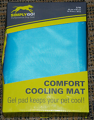 Simply Go Dog Cooling Mat Size S/M 40cm x 50cm