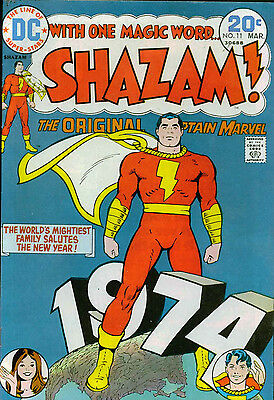 Shazam #11 1974: Captain Marvel, Marvel Family: Oksner & Schaffenberger Art