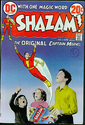 Shazam #2, 1973: Captain Marvel: C.c.beck & Bob Oksner Art