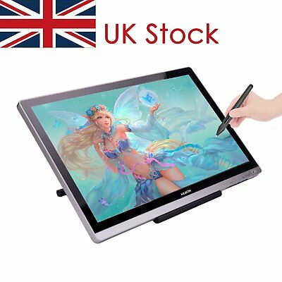 """Graphics Tablet Monitor Huion GT220 v2 21.5""""IPS Screen Display For Wins Glove UK"""
