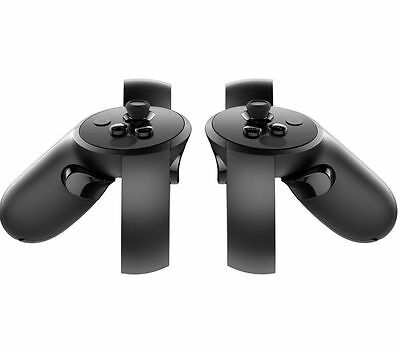 OCULUS Touch Controllers Black Natural gestures & movements for realistic VR