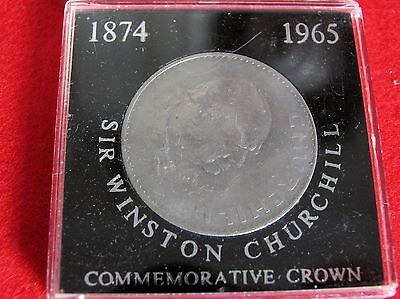 Sir Winston Churchill Commemorative Crown 1965