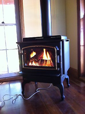 Regency Masport F33  Freestanding Natural Gas Log Fire Fireplace Heater Stove
