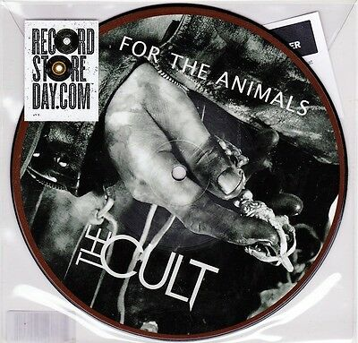 """The Cult - For The Animals / Lucifer - 7"""" US RSD 2012 Picture Vinyl 45 - New"""