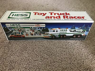 Hess Toy Truck And Racer