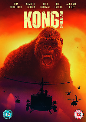 Kong: Skull Island[2017] (DVD) Tom Hiddleston, Brie Larson, Samuel L. Jackson
