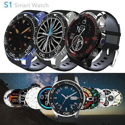 2017 New S1 Smart Watch Phone Android 5.1 MTK6572 QuadCore 3G GPS Bluetooth UK