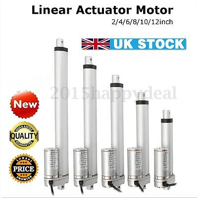 DC 12V 1500N Linear Actuator Motor For Auto Car RV Electric Door Opener 2-12''