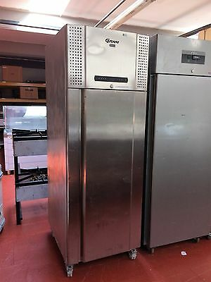 GRAM upright single door fridge stainless steel commercial Used
