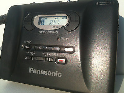 Panasonic RQ-S90R Walkman Cassette Recorder Player Kassettenspieler remote work