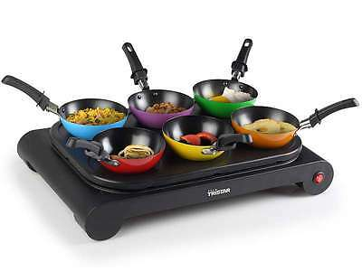 Tristar Bp 2827 Elektro Wok Set 6 Pers Party Tischwok 1000 W Crepes 47421844