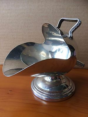 Silver Plated Coal Skuttle Made in England