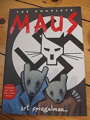 The Complete Maus by Art Spiegelman Paperback Graphic Novel