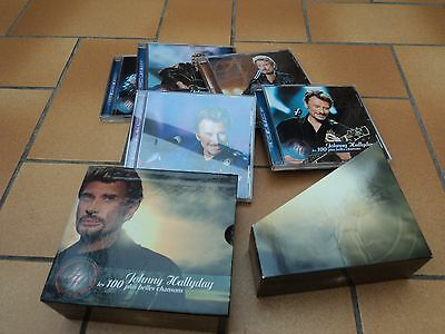 coffret 5 cd de johnny