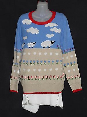 1970's/80's Vintage Wool Picture Jumper.