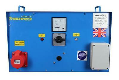 TRANSWAVE Rotary Converter MT1.5 - 2hp/1.5kW - Single to 3-phase 240v to 415v