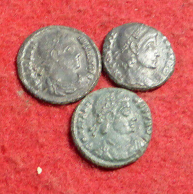 3 Ae3 Coins of Constantine