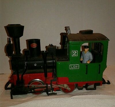 Lgb G Scale Toy Train Engine #2774  Green Red Black Untested As Is