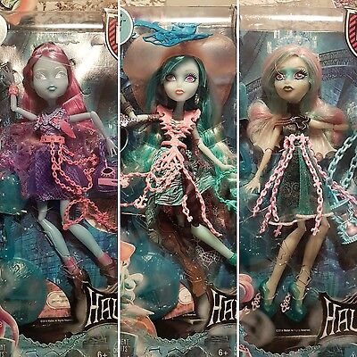 Haunted Monster High Dolls X3