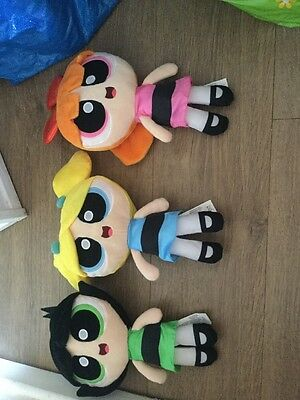 powerpuff girls plush