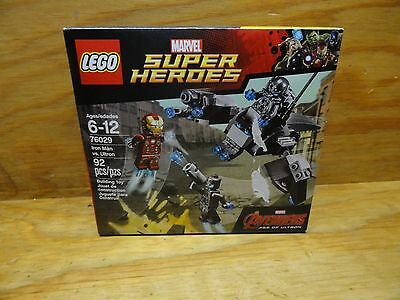 LEGO Marvel Super Heroes 76029 Iron Man vs. Ultron New in sealed box
