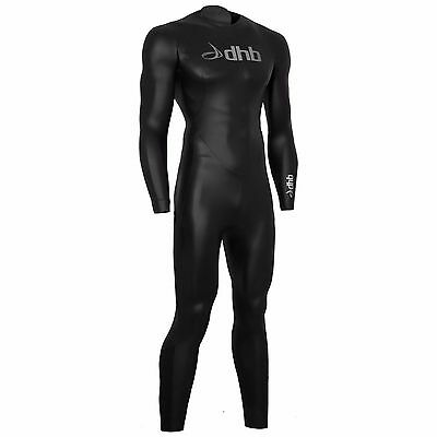 dhb Wetsuit SMALL BLACK/SILVER MENS