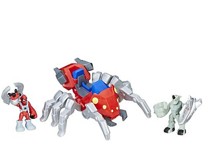 Playskool Heroes Marvel Super Hero Adventures - SPIDER-MAN WITH SPIDER BOT