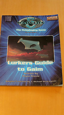 Babylon  5 RPG  - Lurkers Guide to the Gaim