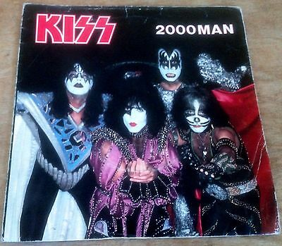 KISS 2000 man*i was made for lovin you*sure know something 1979 UK CASABLANCA 45