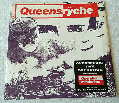 "Queensryche - Overseeing The Operation 1988 - 10"" - EMI Manhattan Fates Warning"