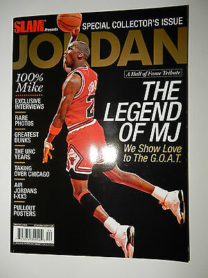 """NEW Slam magazine Special Collector's Issue """"The Legend of MJ"""" Air Jordan 1-XX3"""