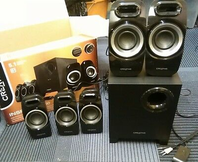 Creative Inspire T6300 (5.1) Surround Speaker System with Wired Remote Control