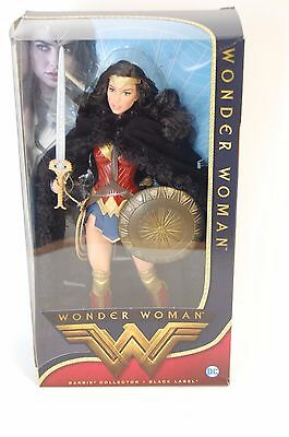 Mattel - Black Label Barbie Wonder Woman Doll - Damaged Box