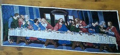 "Last Supper"" handmade goblen , gobelin,size: 136-50sm. 56 colors, 1: 1"