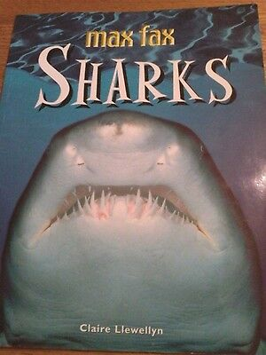 Sharks,  Max Fax paperback book