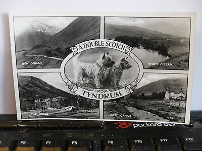 A Double Scotch from Tyndrum - Scenic Views -  p/c in VG order.