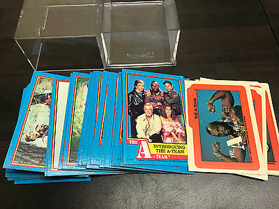 The A Team Trading Cards 1-66 Plus Stickers Full Set