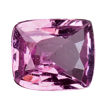 0.645 Cts Amazing Luster Pink Natural Sapphire Cushion Loose Gemstones