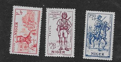 Niger Sc# B11-3 Mh Stamps