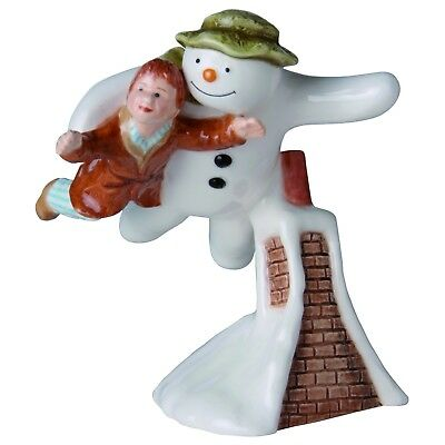 The Snowman Briggs Beswick Snowman And James Flying Figurine 11.4cm JBS1 RRP£28