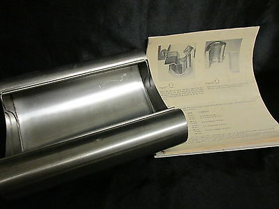 HEATH-MITCHELL Color Canoe Stainless Steel 10x8x4 Darkroom Film Developing Tray