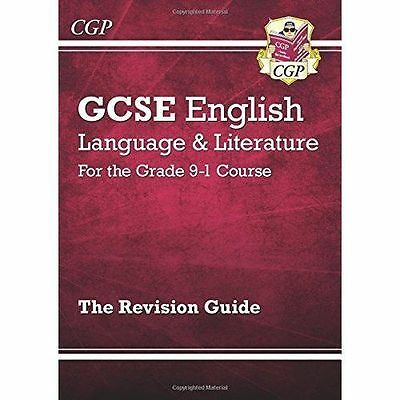 GCSE English Language and Literature Revision Guide by CGP Books