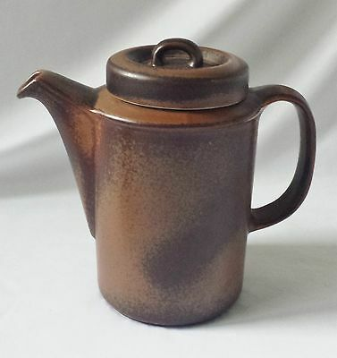 Vintage Mid Century Arabia Ruska Coffee Pot With It's Original Lid - Finland