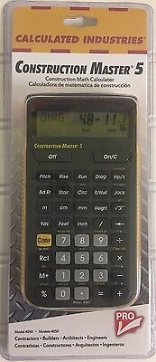 (B) Calculated Industries 4050 Construction Master 5 Construction Calculator