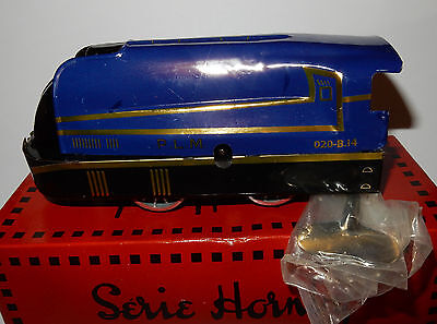 Train Sncf Hachette Hornby Locomotive Plm Carenee + Clef Scale O 1/43 In Box 2