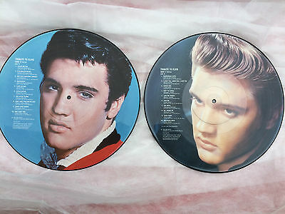 ELVIS PRESLEY - Tribute to Elvis 2x LP Vinyl Picture Disc UK, 1987 ANIV10