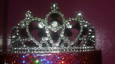 Tiara Crown Wedding Prom Hen Party Occasion Crystal