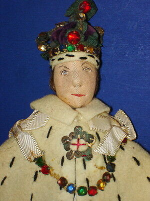 King George Coronation Character Portrait Doll Liberty of London England