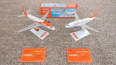 *Limited Edition* easyJet Airbus A320 & Boeing 737 Model Aircraft Scale 1:200